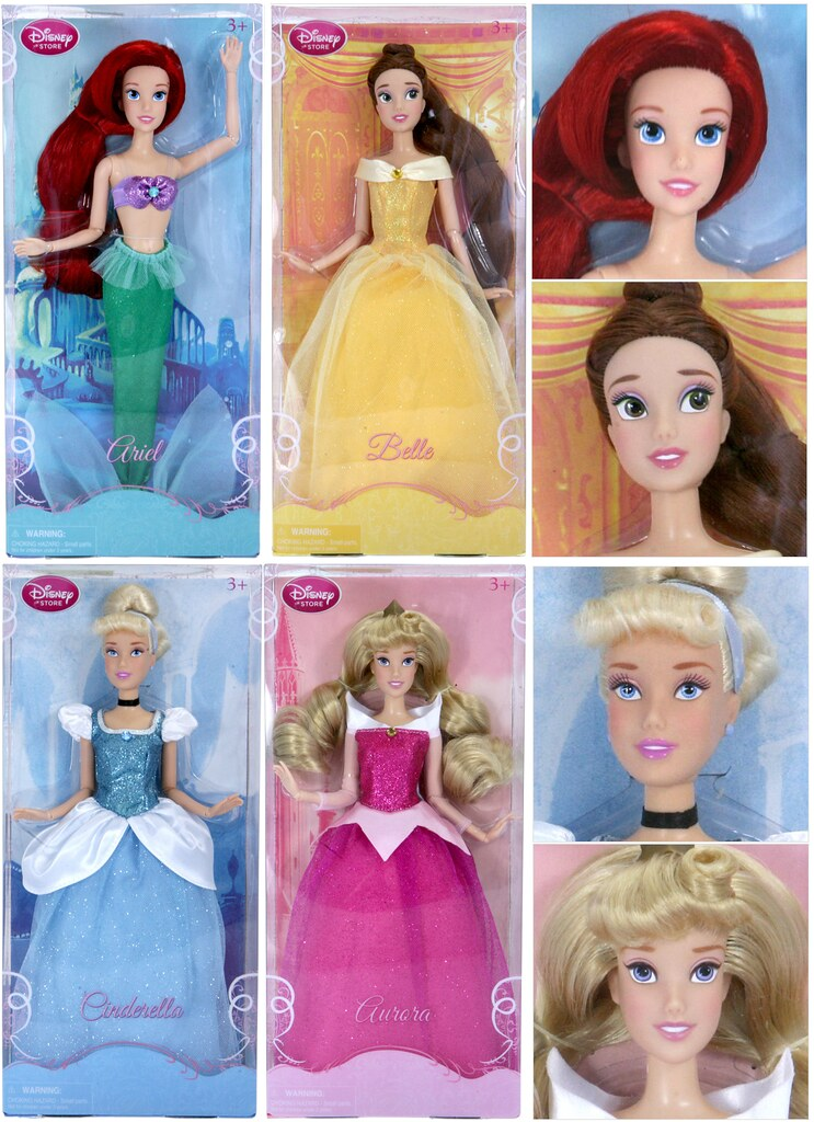 2012 disney store princess dolls the outfits are super