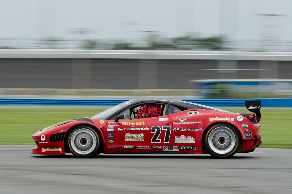 ... Daytona 2011   GRAND AM Rolex Sports Car Series Test   Ferrari 458GT    By