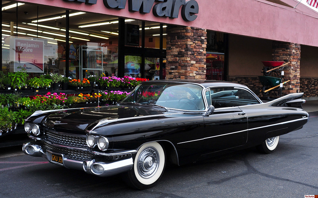 1959 Cadillac Coupe DeVille - black - original - fvl   Flickr