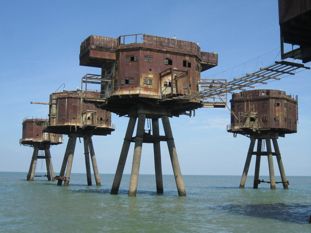 3d Houses For Sale Redsands Wwii Maunsell Sea Forts Abandoned Wwii Maunsell
