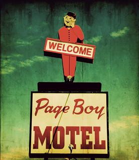page boy motel copy i prefer neon but this little guy. Black Bedroom Furniture Sets. Home Design Ideas
