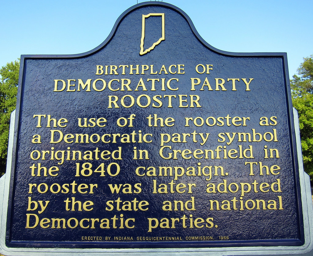 Birthplace Of Democratic Party Rooster The Use Of The Roos Flickr