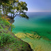 """Michigan's Paradise""  Lake Superior , Pictured Rocks National Lakeshore"
