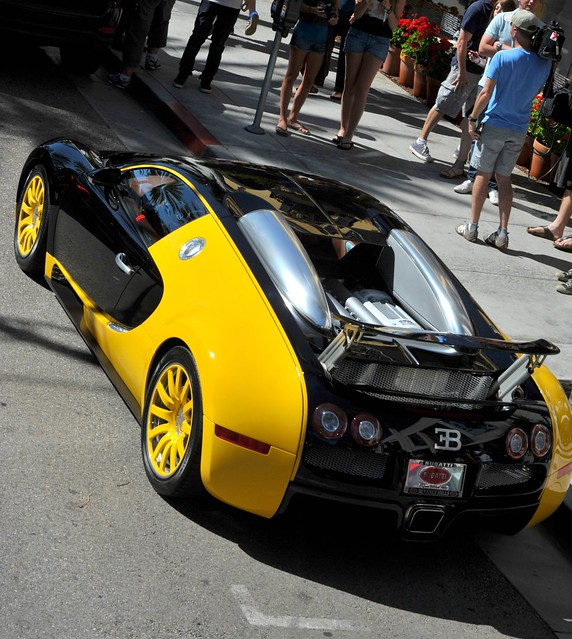bijan 39 s bugatti veyron on rodeo drive beverly hills los angeles ca f. Black Bedroom Furniture Sets. Home Design Ideas