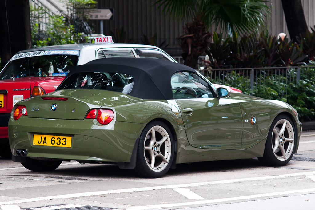 Bmw Z4 E85 Urban Green Ja 633 Bmw Z4 E85 Urban Green