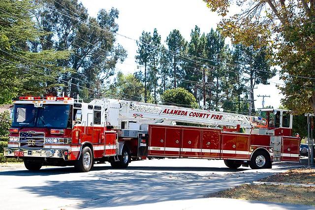 Photo of a fire truck