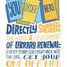 Library Renewal Brochure/Zine Page 38