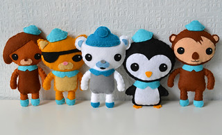 The Octonauts | by Minifelts