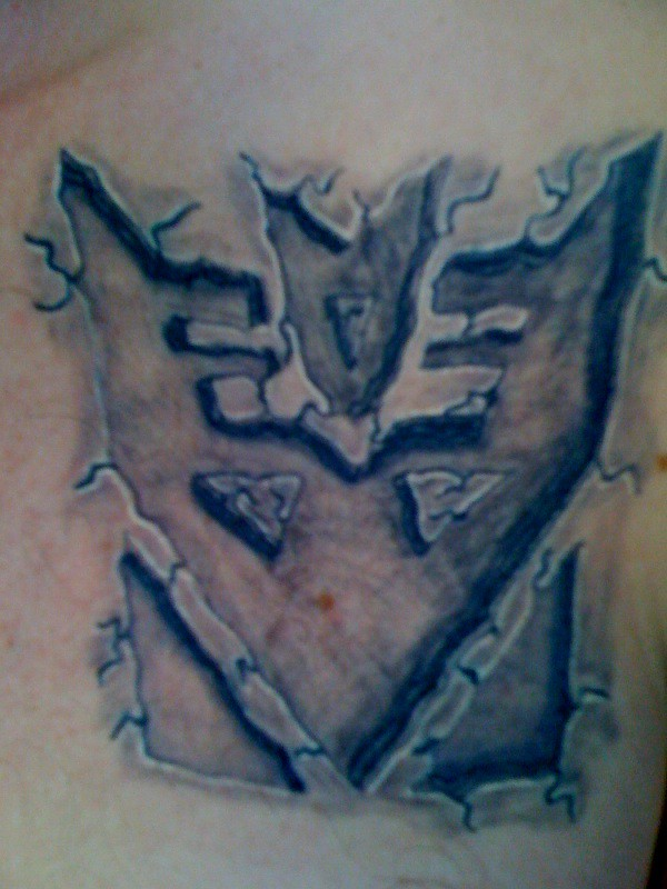 Photo stone carved tattoos transformers at havoc s