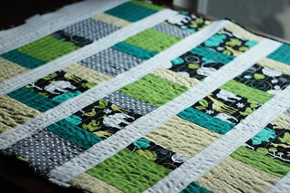 Unisex Baby Quilt | by niftyfoodie