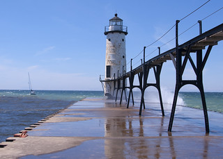Manistee Lighthouse | by Katy Silberger