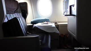 Singapore Airlines Business Class Seat | by AirlineReporter.com