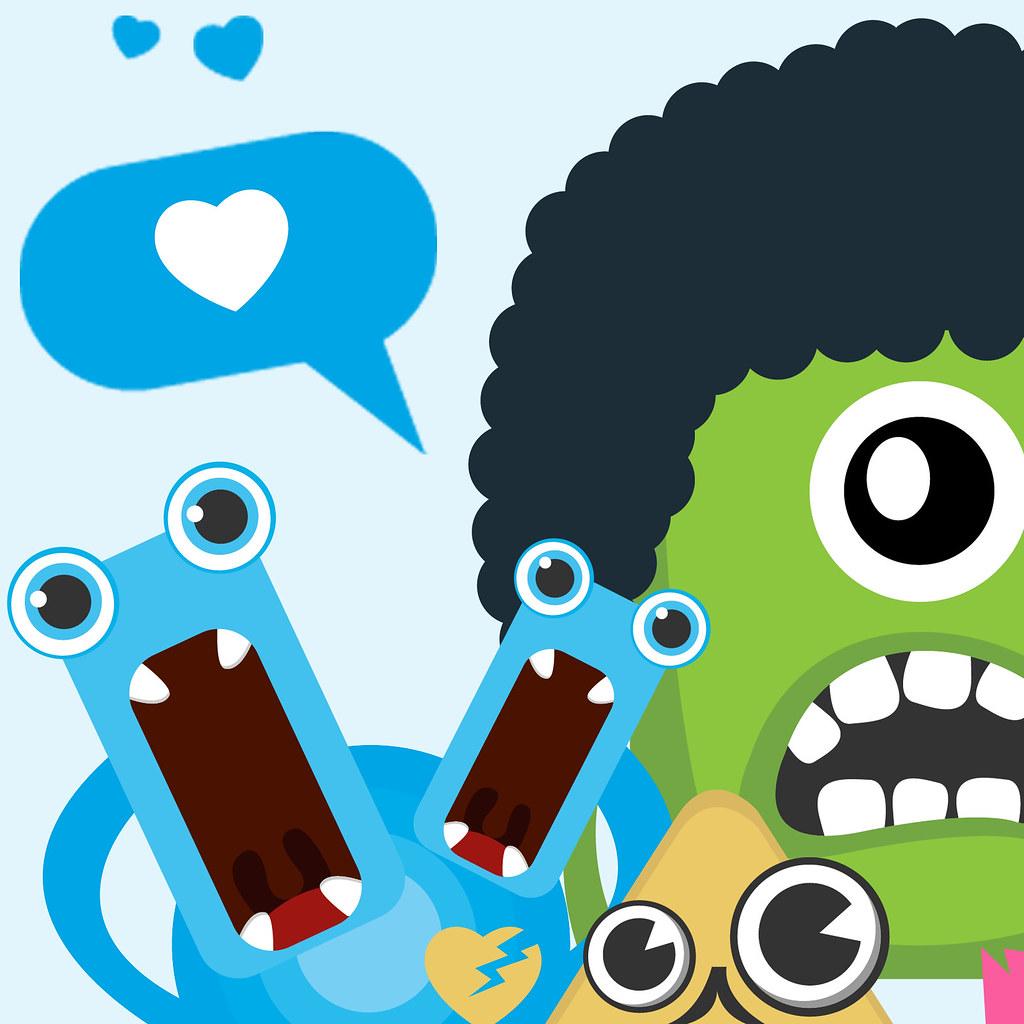 Character Design Job Singapore : Lovely character monster design
