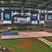 Chase Field - ASG 11 - Pregame Giant Flag (HDR)