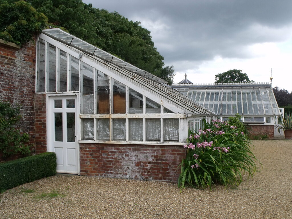 Houghton Hall Walled Garden Greenhouse This Is The