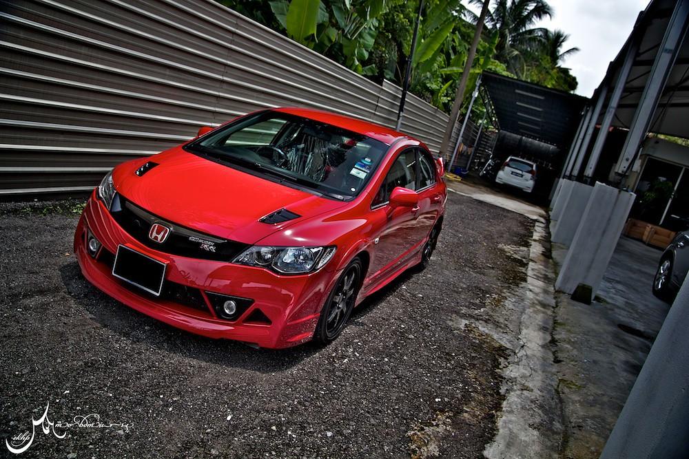 Honda civic mugen rr only 300 original models were made for Where are honda civics made