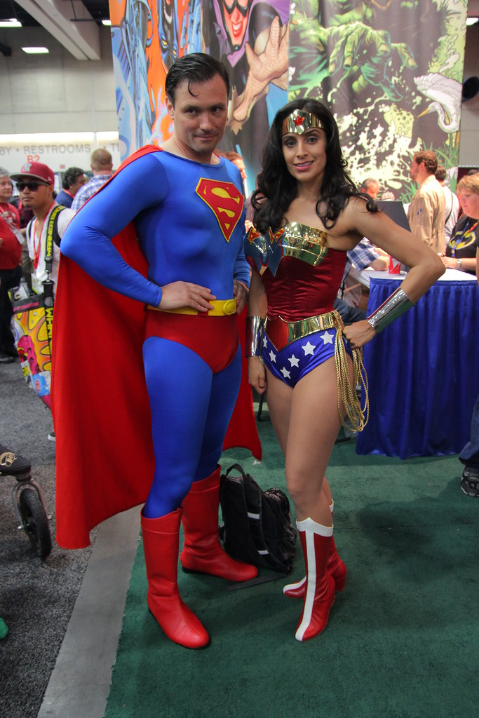 superman and wonder woman cosplay frank eng flickr