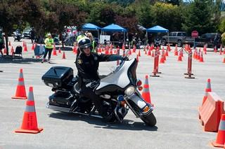 San Jose Harley >> Ride 3 N 12 San Jose Harley Second Turn A San Jose Officer