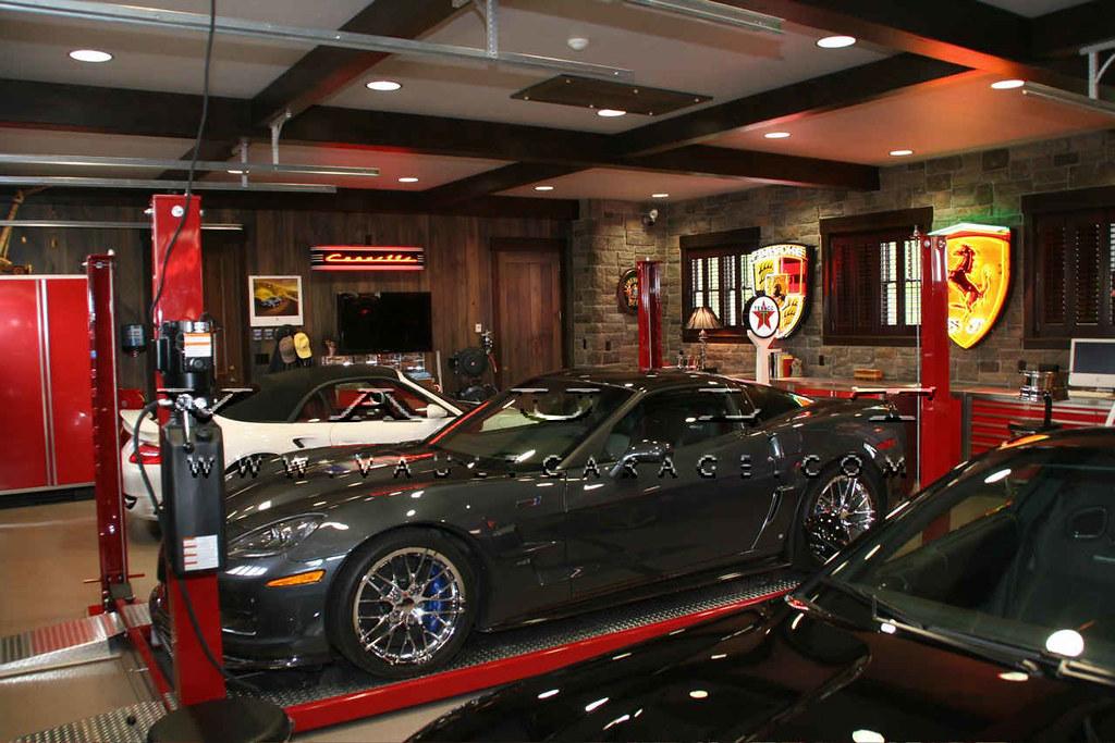 Custom Garage Design And Furnished By VAULT®