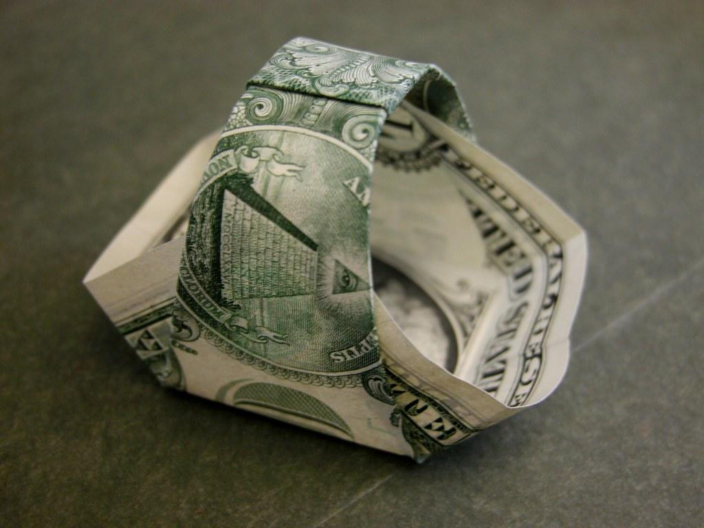 Dollar bill basket | Inspired by Kalei Anne Lundber's tip ... - photo#24