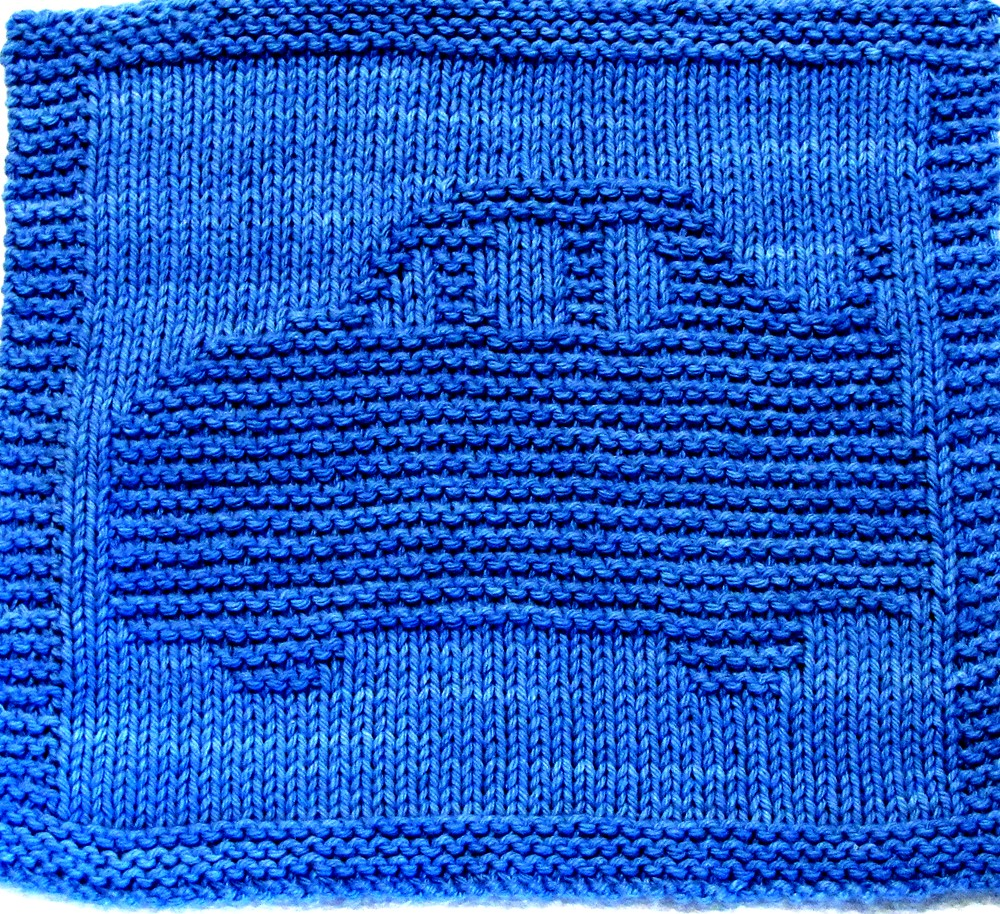 Knitting Cloth Pattern - RACE CAR _ PDF | Pattern includes e… | Flickr