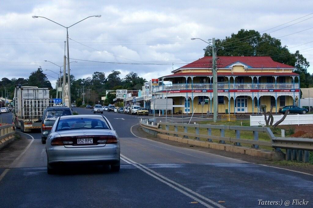 Hotel Radnor In Blackbutt  Queensland  Australia
