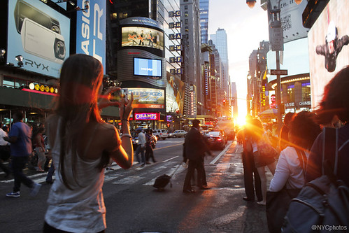 Manhattanhenge, July 13, 2011 | by @NYCphotos-flickr