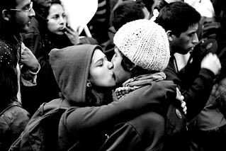 Protest Kiss | by horment
