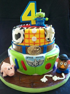 Cake Art N R Colony : Josh s Toy Story Cake I loved doing this cake. Such a ...