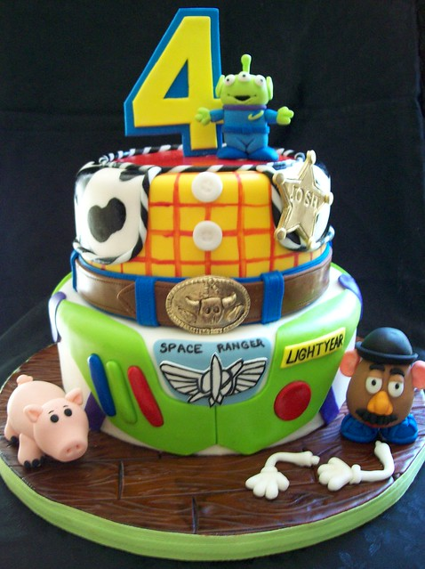 Toy Story Cakes For Boys : Josh s toy story cake i loved doing this such a
