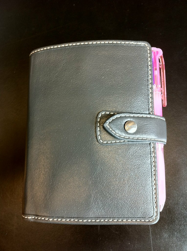 Filofax Pocket Malden in grey | After some back-and-forth ...