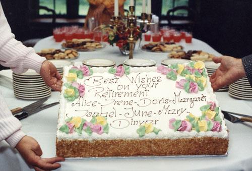 Best Farewell Message On Cake