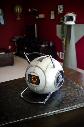 Portal 2 Space Core Cake! | by sharkhats