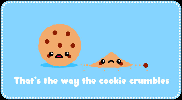 Cookie Crumbles Joke Kawaii Cartoon The Fate Of The