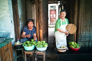Lotus Seed Vendors | by Ed Lam