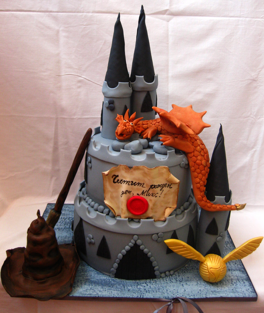Harry Potter Castle Cake Ideas