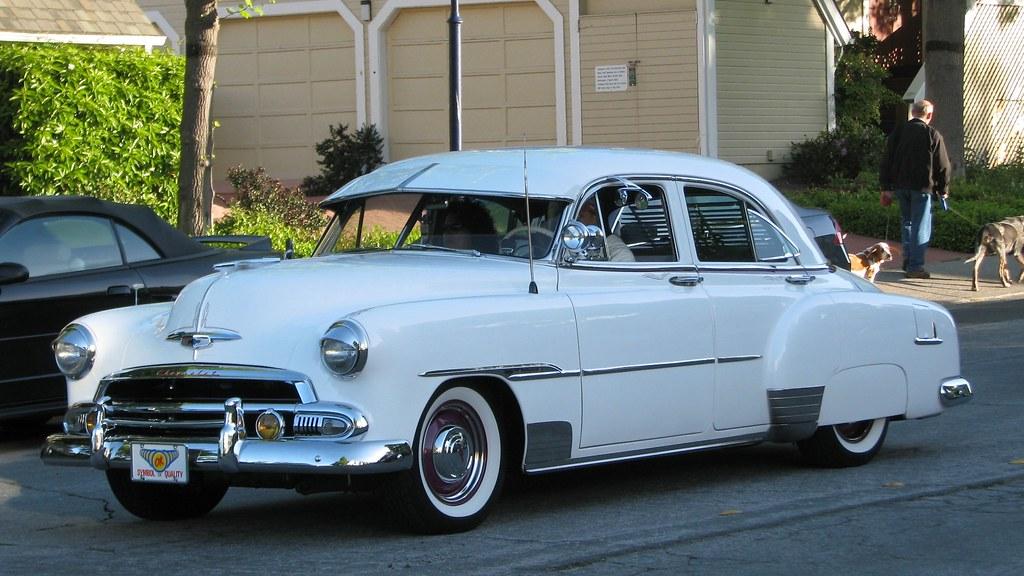1951 Chevrolet Deluxe 4 Door Custom 4vpb640 1