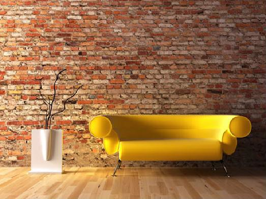 Revestimiento de interiores con ladrillo visto www - Ladrillos decorativos para interiores ...