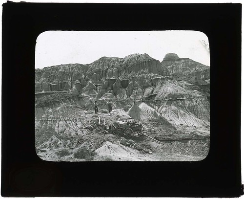 Barbour, Wortman, and Gidley on paleontological expeditions, 1900-1935 | by Smithsonian Institution
