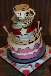 Cat in the Hat Cake | by Andrea's SweetCakes