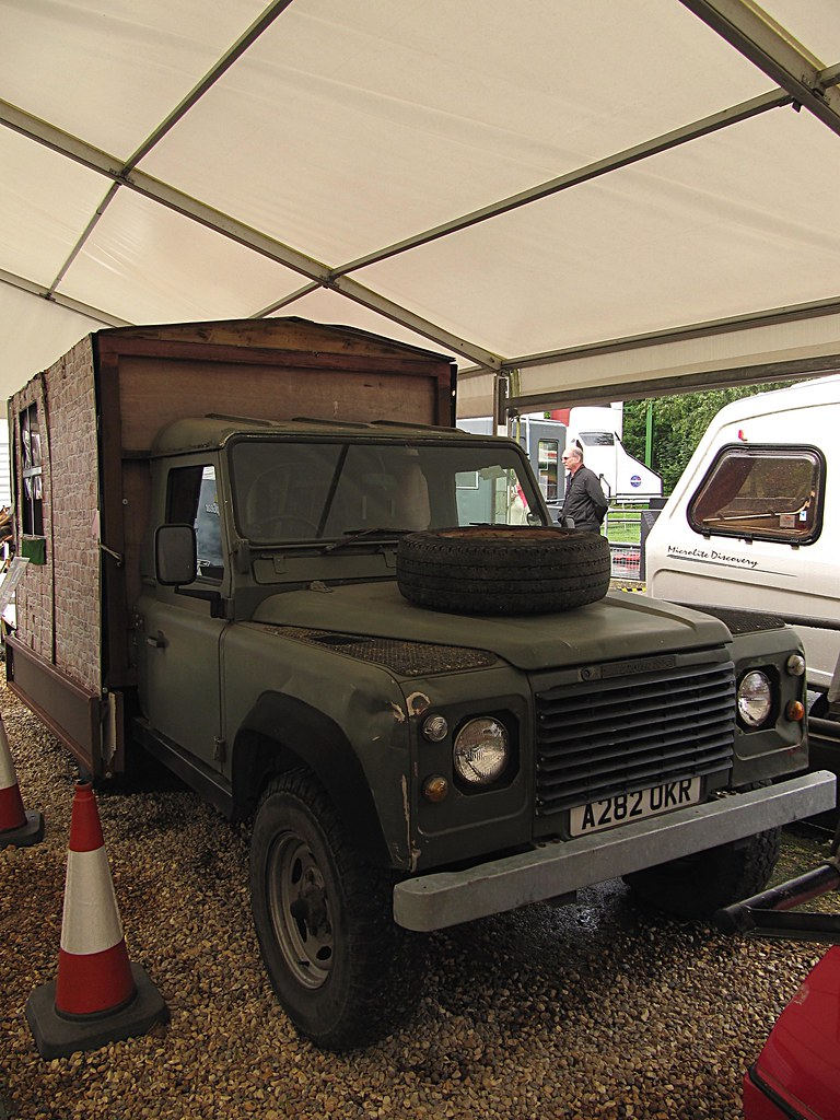 Land Rover Defender Caravana Beaulieu Motor Museum World O Flickr