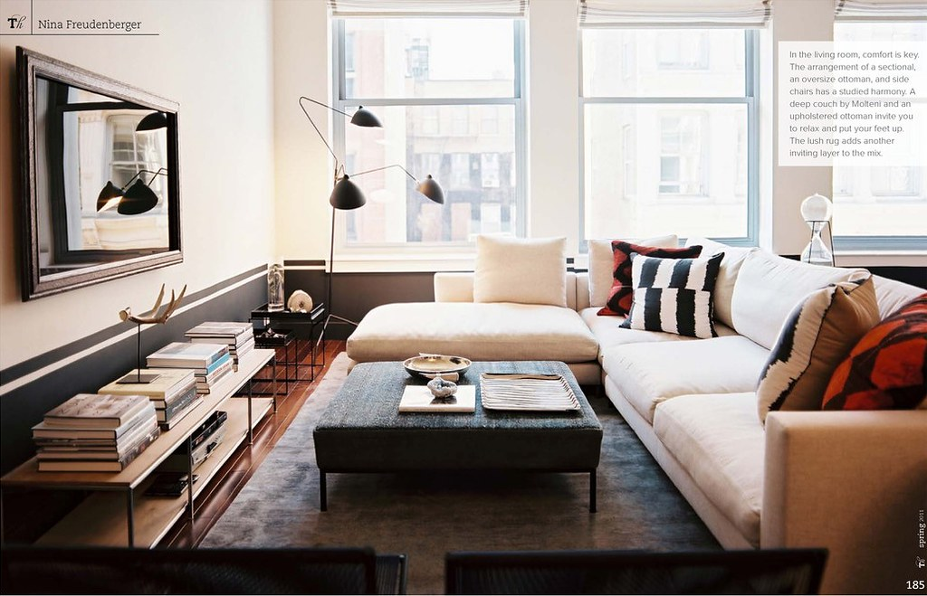 Nina freudenberger patrick cline lonny eclectic moder for Contemporary eclectic living room