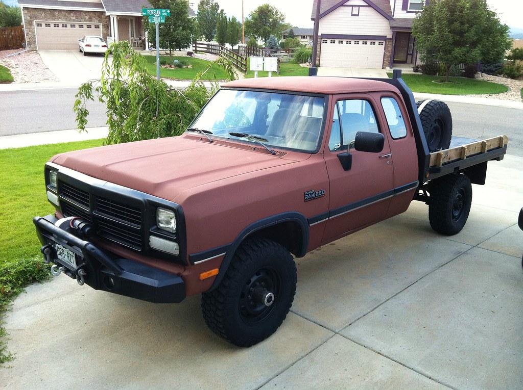 1993 Dodge Ram W250 4wd w/ Cummins Diesel For Sale! $7000.… | Flickr