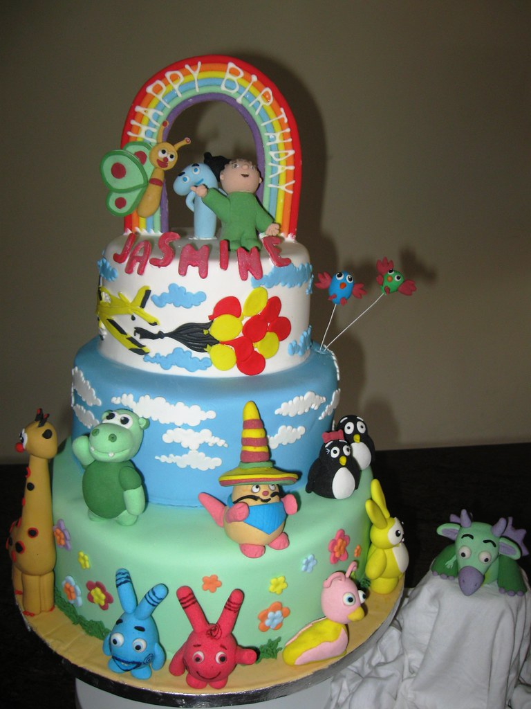 Baby Tv Cake In The Cake Charlie And Number 1