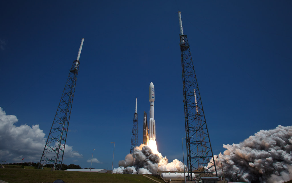 Atlas V Rocket Launches with Juno Spacecraft (201108050005HQ)