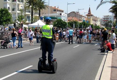 police montée | Mounted police à Cagnes-sur-Mer (Alpes