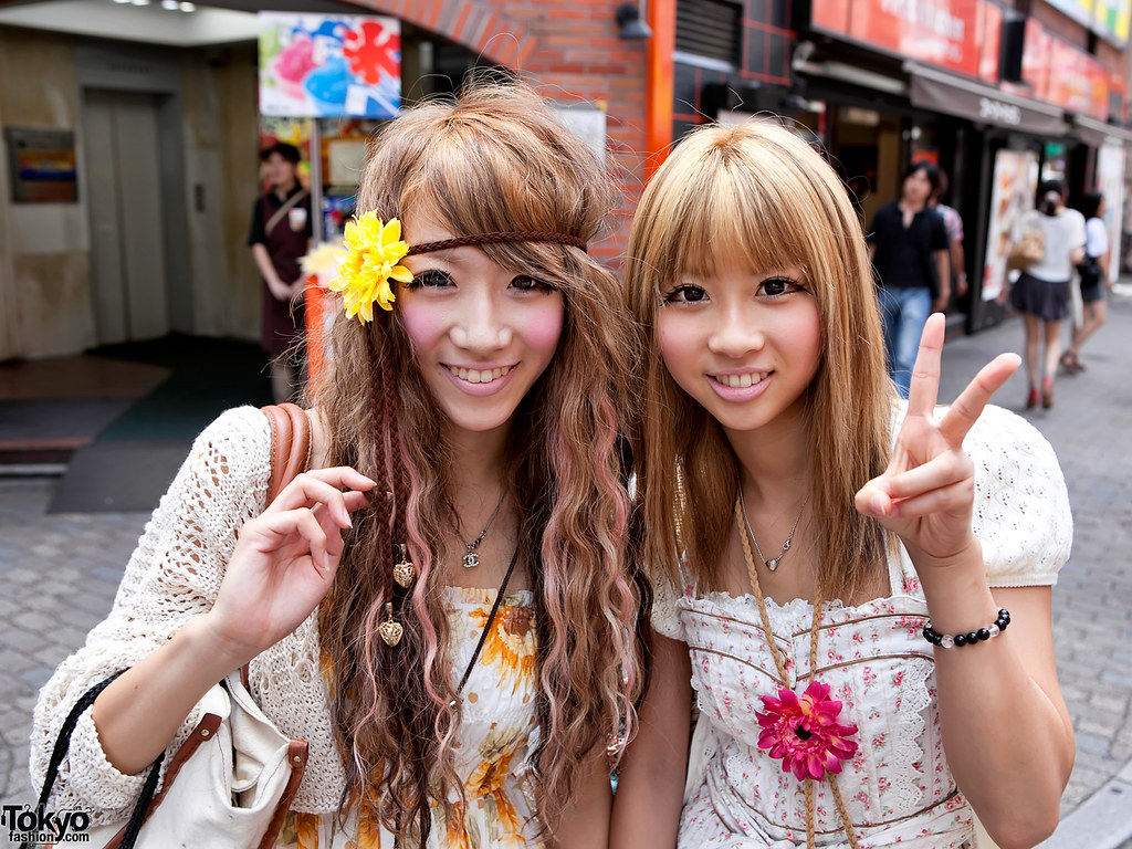 Pretty Shibuya Flower Girls  Two Pretty  Stylish Shibuya -7704