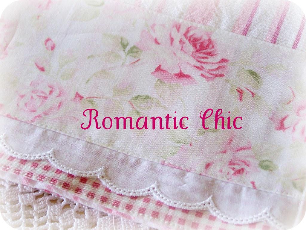 Romantic Shabby Chic Birthday Cake