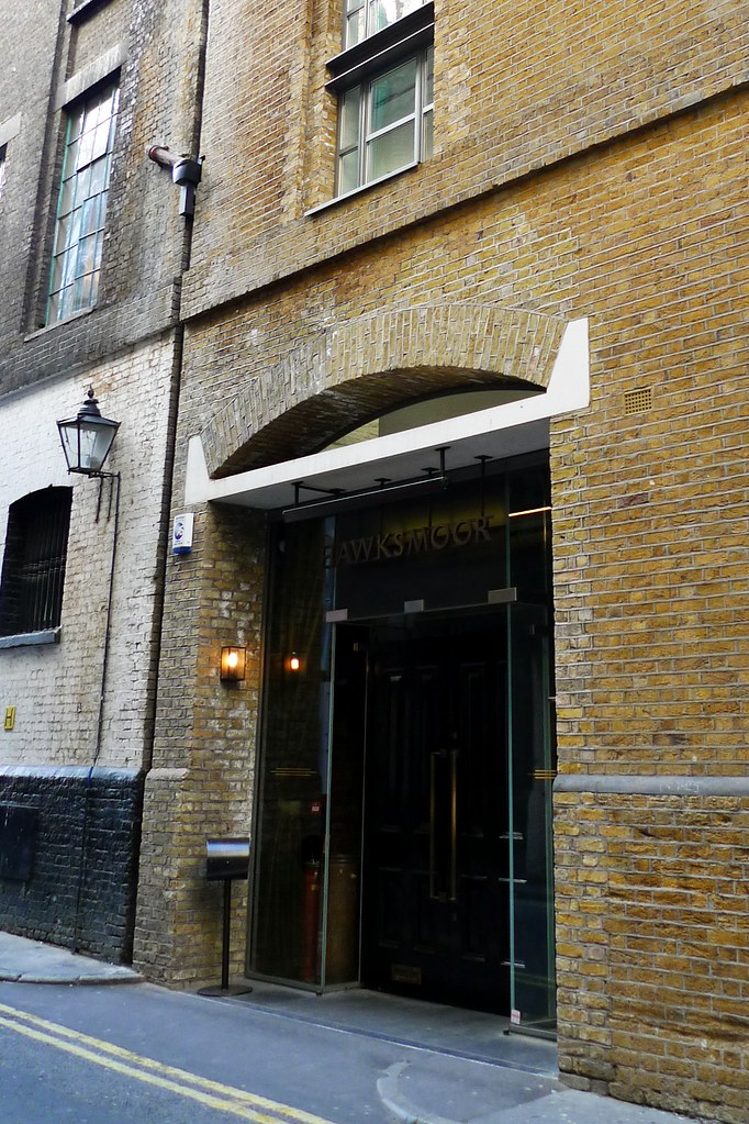 Hawksmoor Covent Garden Wc2 The Entrance To Hawksmoor