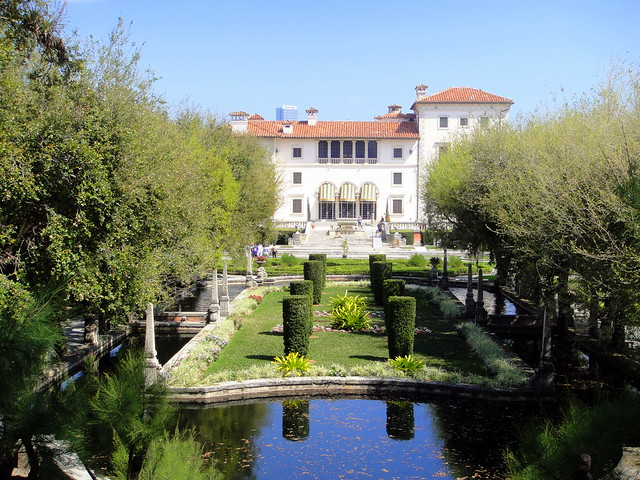 Vizcaya house and  gardens